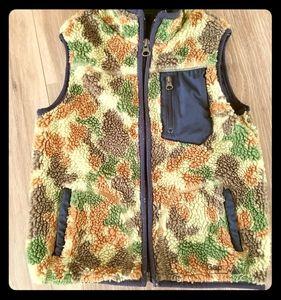 Boys Camo fleece vest - 4